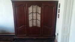 Neobarokk szekrény, 3 ajtós