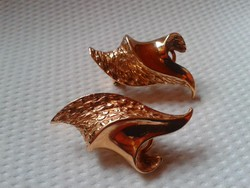 Aranyozott ezüst Designer fülbevaló-ajándéknak