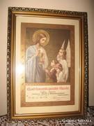 Első szent áldozási emlék 1944-ből