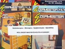 1976 április  /  Ezermester  /  SZÜLETÉSNAPRA RÉGI EREDETI ÚJSÁG Szs.:  7616