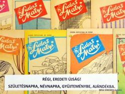 1980 május 8  /  Ludas Matyi  /  SZÜLETÉSNAPRA RÉGI EREDETI ÚJSÁG Szs.:  6908