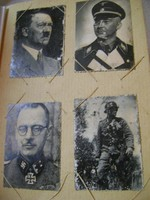 93 darabból álló II. vhs. birodalmi fotó gyűjtemény albumban