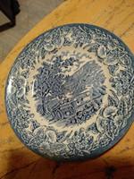 Porcelán tányér,- angol
