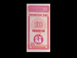 UNC - 10 MENGE - MONGÓLIA....1994!!!