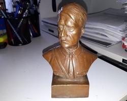 Hitler bronz büszt WW2 szobor Adolf Hitler III. Birodalom 2. vh. Third Reich