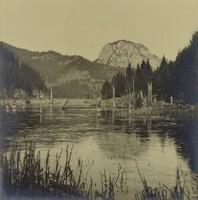 0T796 Művészi fotográfia Gyilkos tó Erdély ~ 1930