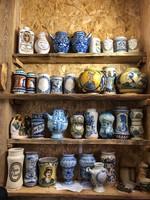 Patikaedény, albarelló, gyógyszertári edény gyűjtemény