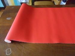 Piros műbőr (180×44 cm)