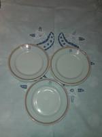 Alföldi porcelán (CsMVV) kis tányér ( 3 db)