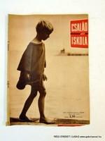 1965 július  /  CSALÁD és ISKOLA  /  SZÜLETÉSNAPRA RÉGI EREDETI ÚJSÁG Szs.:  6296