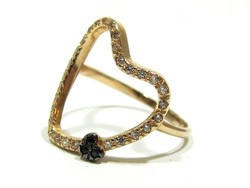 Női arany gyűrű ( Kecs-Au71519 )