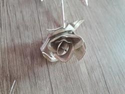 Csodálatos ezüst rózsa 1Ft