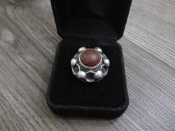 Hatalmas antik ezüst gyűrű 9,9gramm!