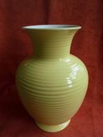Régi Gránit porcelán nagy méretű art deco váza
