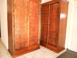 Indiai Paliszander tömör fa 2 ajtós szekrény