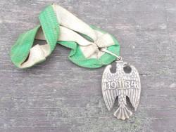 II.világháborús Német German medal kitüntetés Reichswehr 1934 II