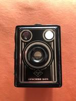 Régi agfa fényképezőgép