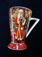 Retró karácsonyi csésze