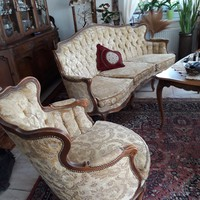 Warrings óarany szinű 4 darabos nappali ülögarnitura