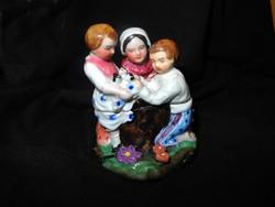Antik porcelán cukortartó 18-19.század körül
