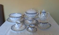 Zepter ÉDEN porcelán ét és kávéskészlet.