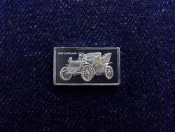 Cadillac 1903 autós ezüst lapka