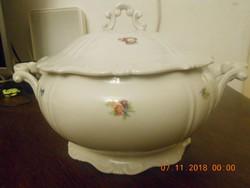 Zsolnay barokk, leveses tál