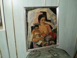 """Patkó Béla """"Anya gyermekével"""""""