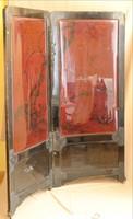 Paraván keleti lakk festéssel
