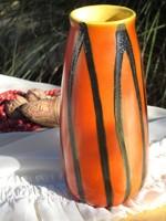 TÓFEJ-kerámia váza!