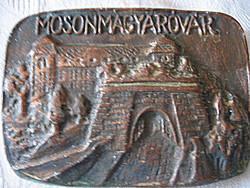 Réz falikép Mosonmagyaróvár