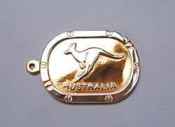 Ausztrál kengurus függő/kulcstartó.