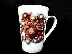 Angyalkás kakaós csésze