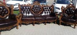 Barokk stílusú ülőgarnitúra szett