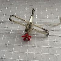 Régi repülő karácsonyfadísz