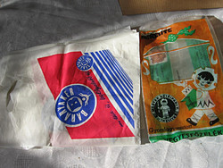 Régi csomagoló zacskók