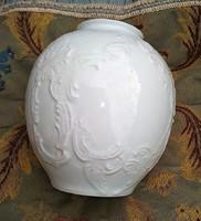 Gyönyörű Royal Bavaria német Biszkvit kézzel készített porcelán váza