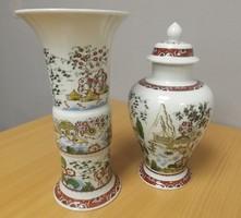 Kínai mintával-Unterweissbach-Német vázapár