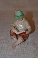 Kispesti olvasó fiú  ( DBZ 0032 )