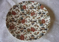 Antik, fajansz tányér - Sarreguemines