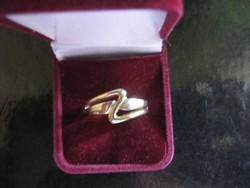 Arany gyűrű 14 K  4,8 g!!