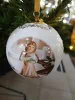 Karácsonyi gömb Goebel porcelán 2017-es kolllekció limitált