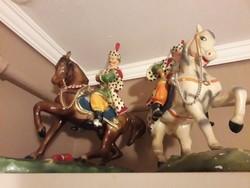 Giga ritka lovas szobrok