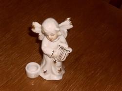 Porcelán  angyal  8cm