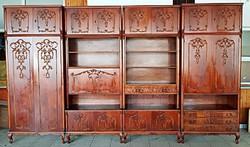 4 részes barokk szekrénysor