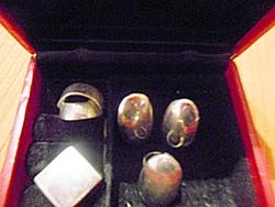 5 db / Gyűrű Ékszertartóval
