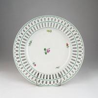0U273 Antik LIPPERT & HAAS porcelán dísztányér