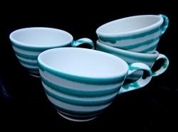 Gmundner Keramik csészék 2 dl