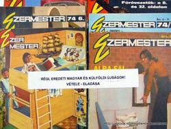 1976 október  /  Ezermester  /  SZÜLETÉSNAPRA RÉGI EREDETI ÚJSÁG Szs.:  7621