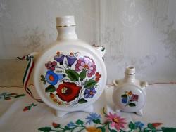 Eredeti Kalocsai porcelán kulacs nagy és kicsi párban 3.